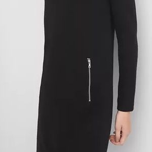 GAP Dresses - Gap Boatneck Swing Dress Black XS v778